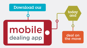 Download our Mobile Dealing App