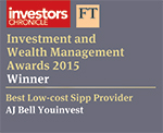 AJ Bell Youinvest - Investors Chronicle and FT Investment and Wealth Management Awards