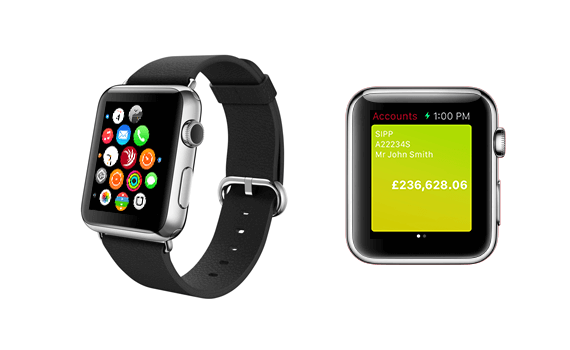 Monitor your portfolio values on Apple Watch