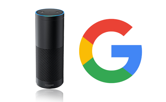 Amazon Echo and Google Assist